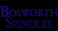 Bosworth Spindles Logo, blue