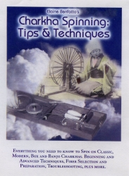 DVD cover - Charkha Spinning Tips and Techniques